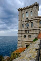 Monaco, Monte Carlo, Le Rocher, Cote d'Azur, Oceanographic Museum
