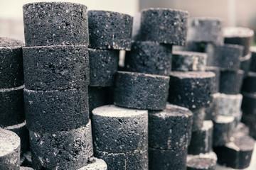 samples of asphalt