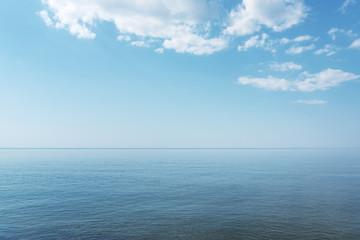 Blue Baltic sea. Wall mural