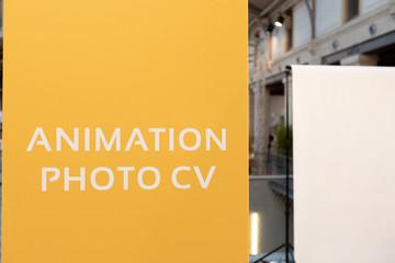 Animation photo cv
