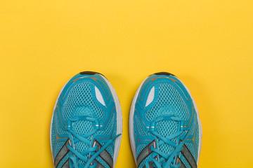 Zapatillas de deporte running vista de arriba