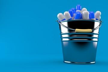 Bucket of pills