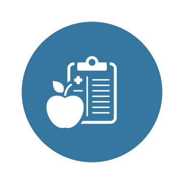 Medical Diet Flat Icon