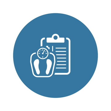 Weight Management Flat Icon