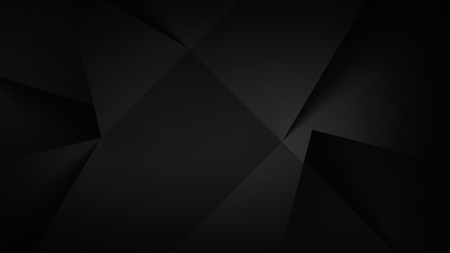 Abstract dark background illustration with geometric graphic elements