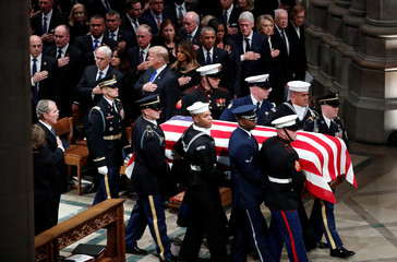 Funeral service for former U.S. President George H.W. Bush in Washington