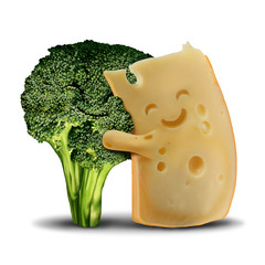 Funny Broccoli And Cheese