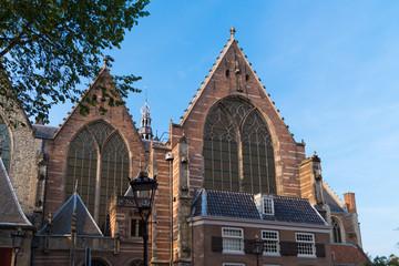 old church in Amsterdam, netherlands