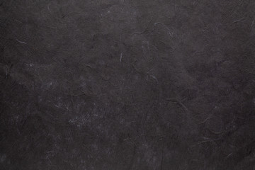black textured mulberry paper