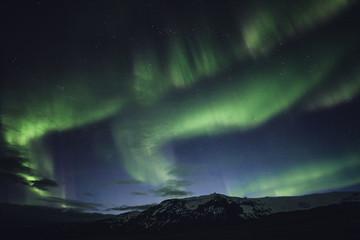 Northern light aka aurora borealis