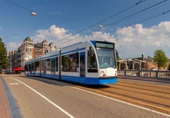 Amsterdam. City tram.