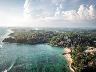 Cape Weligama aerial view, Sri Lanka