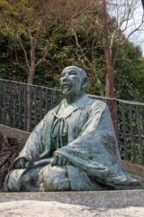 有馬温泉 太閤秀吉の像