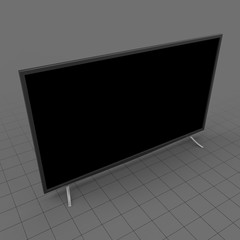 Modern flat screen television