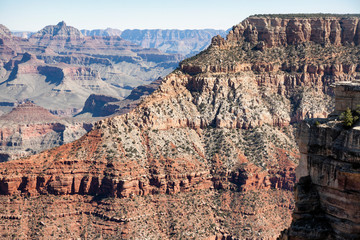 view of Grand Canyon from Mather Point