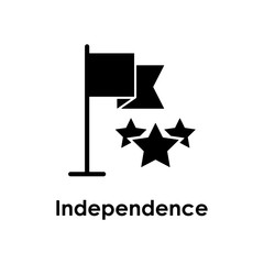 flag, star, independent icon. Element of business icon for mobile concept and web apps. Detailed flag, star, independent icon can be used for web and mobile