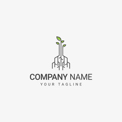 Digital Root Logo Design