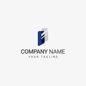 Glass Logo template