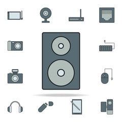 acoustic column icon. Devices icons universal set for web and mobile