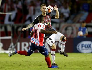 Soccer Football - Copa Sudamericana Final First Leg - Junior v Atletico Paranaense