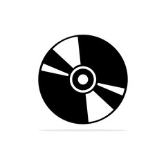 compact disc icon. Vector concept illustration for design