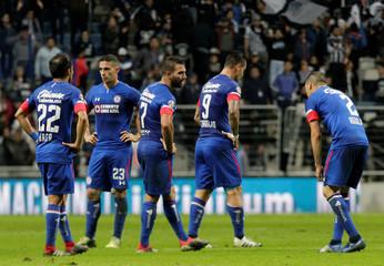 Soccer Football - Liga MX Semi Final First Leg - Monterrey v Cruz Azul