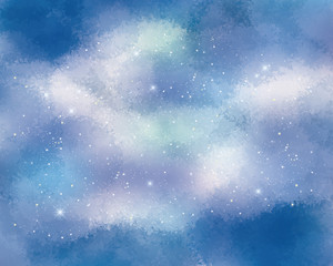 background of starry sky