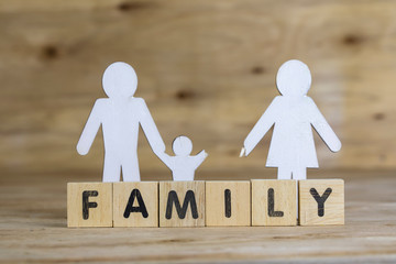 Family Concept ,Familiy and Divorce Concept
