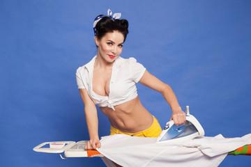 f7222ed93 pin-up girl ironing