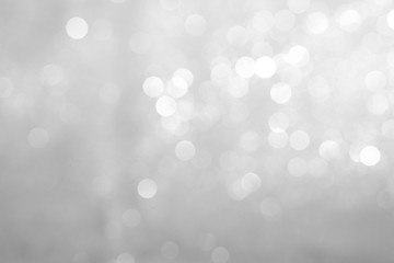 Texture background abstract blurred black and white or silver Glitter and elegant for Christmas.