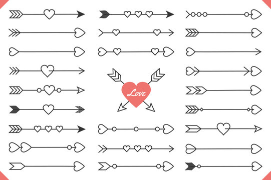 Arrows with Hearts