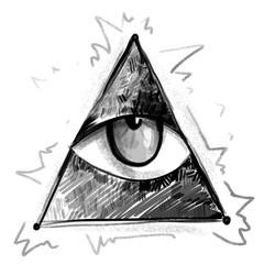 Тhe all-seeing eye symbol