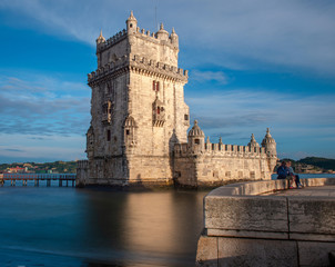 Belem tower reflection