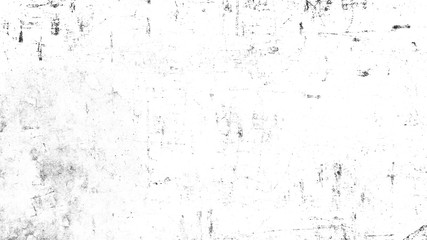 Vintage scratched grunge overlays texture on isolated white background space for text
