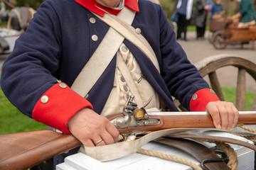 Barocktage historische Kostüme Waffen
