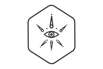 The Masonic eye sacred geometry