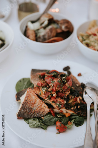 Essen Auf Einer Hochzeit Stock Photo And Royalty Free Images On