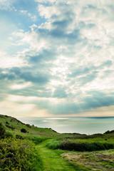 South West Coastal Pathway, Mortehoe, near Woolacombe, Devon