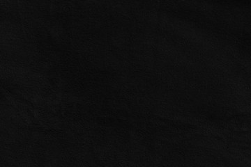 Black fleece flat texture, soft fabric