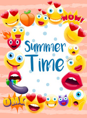 Summer time Poster or Postcard
