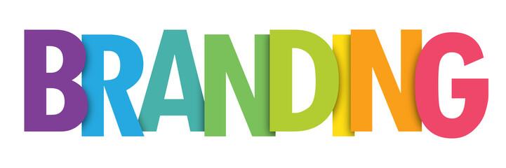 BRANDING colorful typographic banner