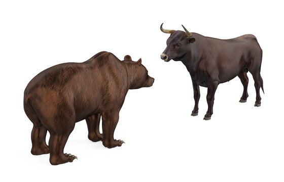 Bullish and Bearish Illustration