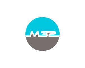 Initial Letter M32 Logo Design Template