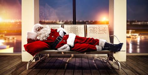 Santa Claus christmas trip