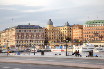 Sweden. City of Stockholm. City view