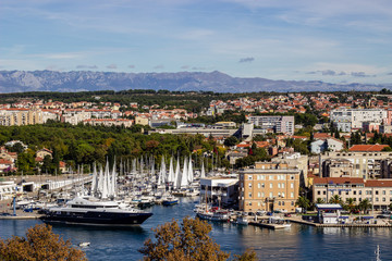 Zadar Port in Croatia