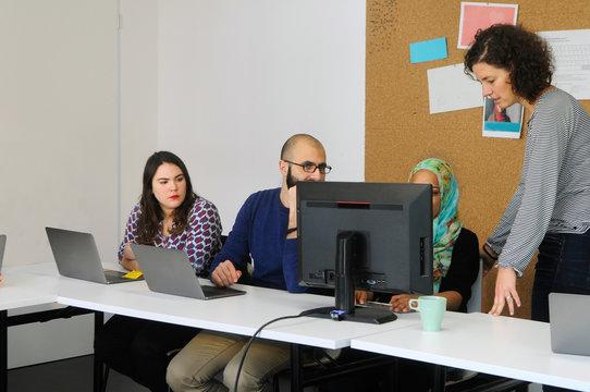 Unterricht für Flüchtlinge