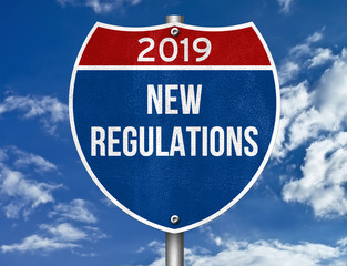 New Regulations for 2019
