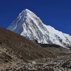 Majestic Mount Pumori.