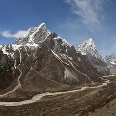 Taboche Peak, Everest National Park, Nepal.